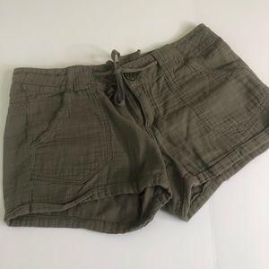 Jolt Army Green shorts